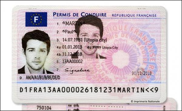 Francesi al volante con una patente nfc app nfc for Carta soggiorno illimitata